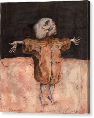Pigme Christ Canvas Print