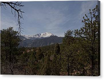 Pikes Peak 1 Canvas Print
