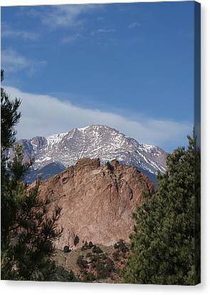 Pikes Peak 2 Canvas Print