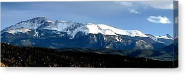 Pikes Peak Panorama Canvas Print
