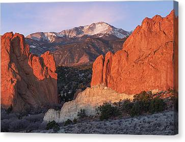 Pikes Peak Sunrise Canvas Print