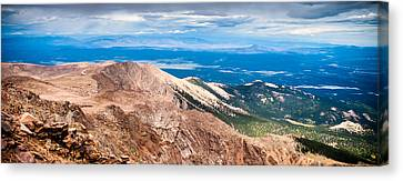 Pikes Peak Vista Canvas Print