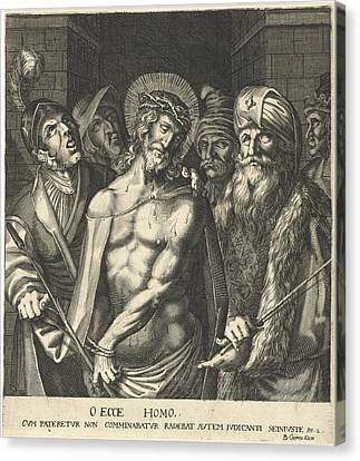 Pilate Shows Christ To The People, Balthasar Caymox Canvas Print