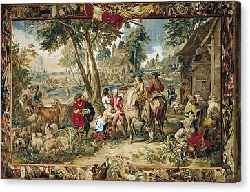 Pillage. 17th C. Germany. Munich. New Canvas Print by Everett