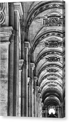 Pillars Arches Canvas Print by Elizabeth Toller