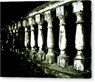 Pillars Canvas Print by Jessica Brawley