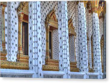 Pillars Canvas Print by Michelle Meenawong