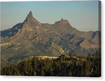 Pilot And Index Peaks Canvas Print