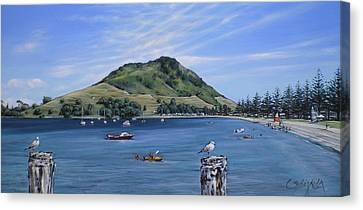 Pilot Bay Mt M 291209 Canvas Print by Sylvia Kula