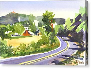 Pilot Knob Mountain Out Jj Canvas Print by Kip DeVore
