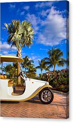 Pimp My Golf Cart Canvas Print