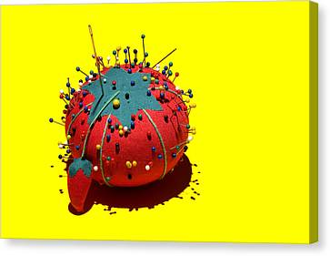 Pin Cushion Canvas Print by Tom Mc Nemar