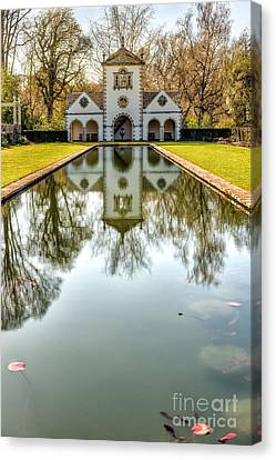 Mill Pond Canvas Print by Adrian Evans