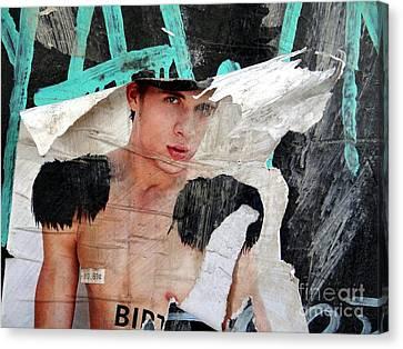 Pin Up Boy Canvas Print by Ed Weidman
