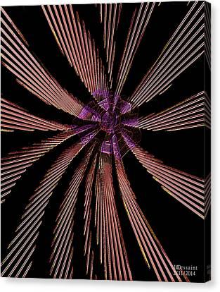 Pin Wheel  Canvas Print by James Dessaint