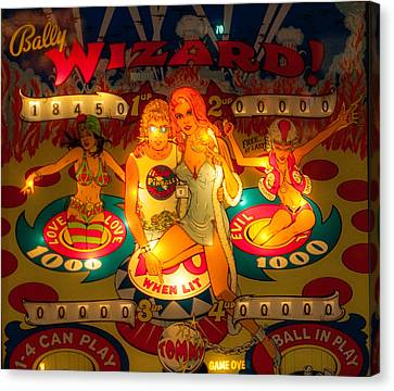 Pinball Wizard Tommy Vintage Canvas Print by Terry DeLuco