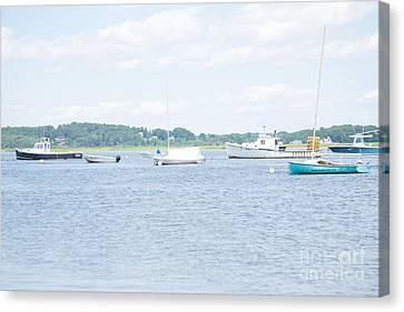 Pine Point Beach Canvas Print by Victoria  Dauphinee