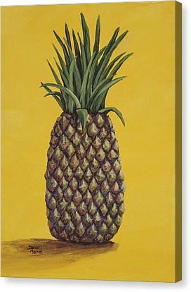 Pineapple 4 Canvas Print by Darice Machel McGuire