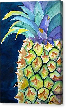 Pineapple Canvas Print by Carlin Blahnik