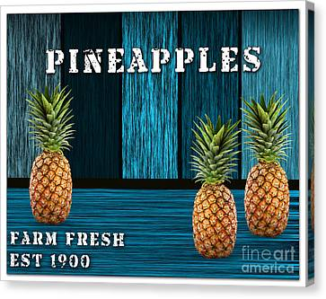 Pineapple Farm Canvas Print by Marvin Blaine