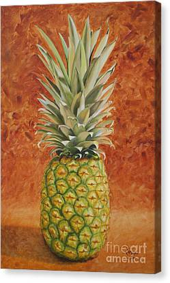 Pineapple  Canvas Print by Jimmie Bartlett