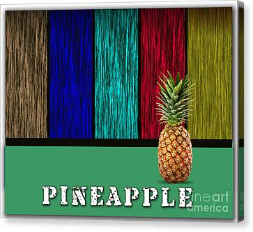 Pineapple Canvas Print by Marvin Blaine