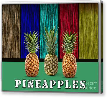 Pineapples Canvas Print by Marvin Blaine
