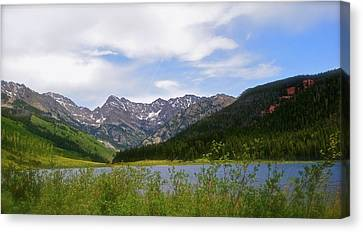 Piney Lake In Upper Vail Canvas Print