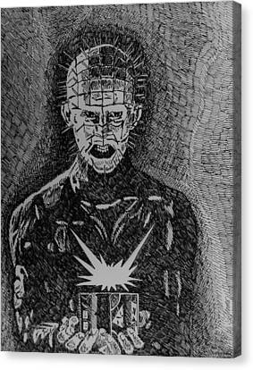 Pinhead Canvas Print by Jeremy Moore