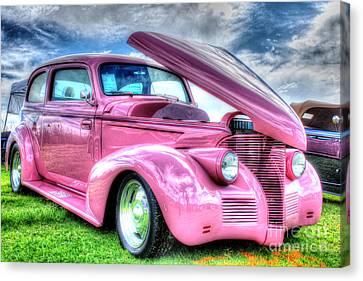 Pink 39 Canvas Print by Linda Arnado