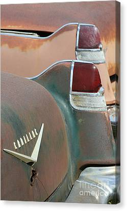 Pink Cadillac Canvas Print by Crystal Nederman