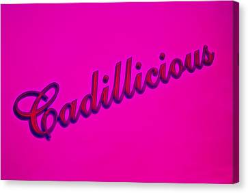 Pink Cadillicious Canvas Print by Phil 'motography' Clark