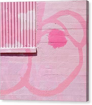 Pink Detail Canvas Print