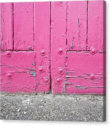 Pink Door Canvas Print by Tom Gowanlock
