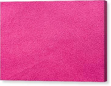 Pink Fleece Canvas Print by Tom Gowanlock
