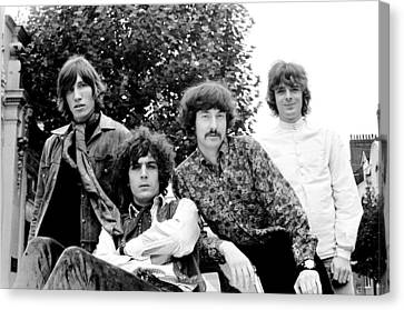 Pink Floyd 1967 Canvas Print by Chris Walter
