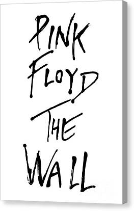 Pink Floyd No.01 Canvas Print by Caio Caldas