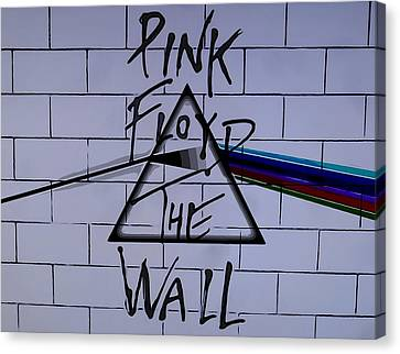 Pink Floyd Poster Canvas Print by Dan Sproul