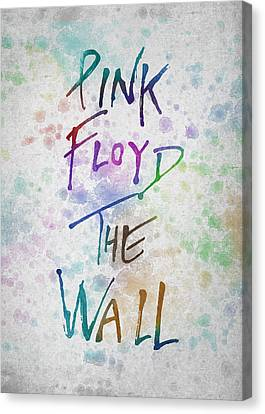 Pink Floyed The Wall Canvas Print