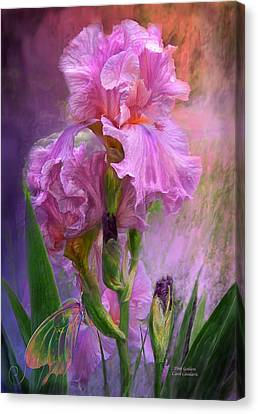 Insects Canvas Print - Pink Goddess by Carol Cavalaris