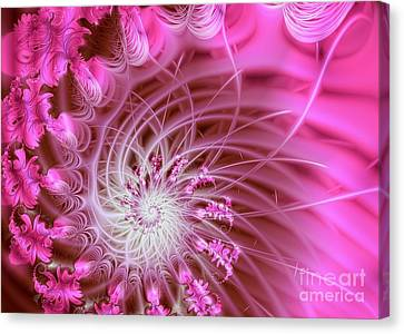 Pink Canvas Print by Lena Auxier