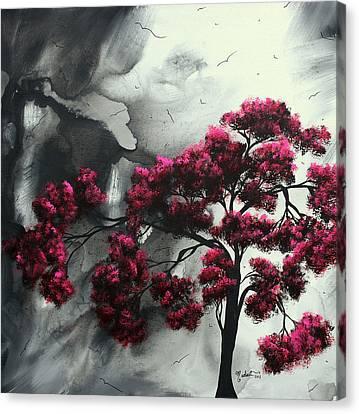 Trend Canvas Print - Pink Passion Original Painting Madart by Megan Duncanson