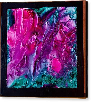 Pink Polinator Canvas Print