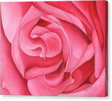 Pink Rose 14-1 Canvas Print by William Killen