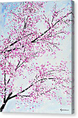 Pink Spring Canvas Print by Kume Bryant