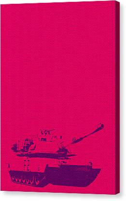 Michelle Canvas Print - Pink Tank by Michelle Dallocchio
