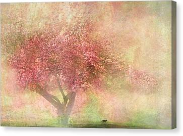 Animal Canvas Print - Pink Tree by Heike Hultsch