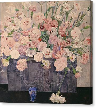 Horticultural Canvas Print - Pinks by Charles Rennie Mackintosh