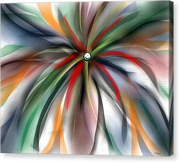 Pinwheel Abstract Canvas Print