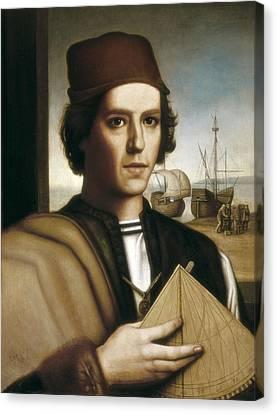 Pinzon, Vicente Y��ez  -1515. Painting Canvas Print by Everett